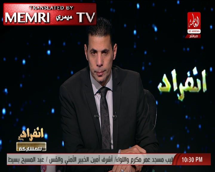 Egyptian MP and TV Host Sa'id Hassassin: Cairo Church Bombing Perpetrated by Intelligence Agencies of Certain Countries