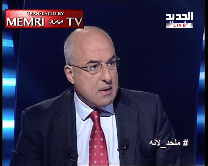 Lebanese Journalist Ziad Njeim: If God Created Us Free, We Should Be Free to Reject Her