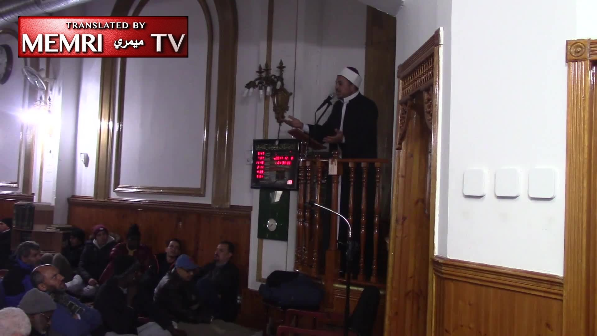 "Friday Sermon at Jersey City, NJ: Imam Aymen Elkasaby Prays to Be Martyred on the Threshold of the Al-Aqsa Mosque, Which Is ""Under the Feet of the Apes and Pigs"""