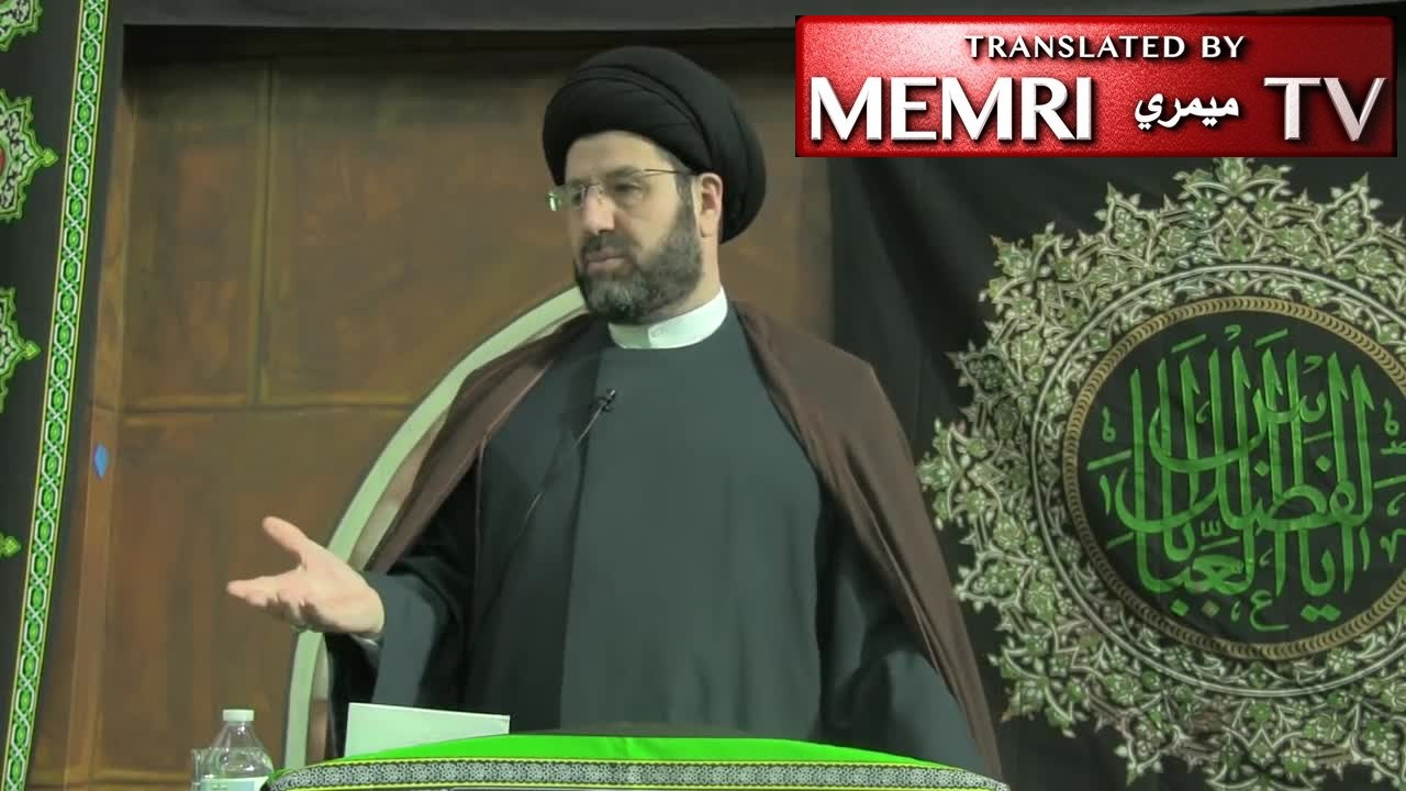 Detroit-Based Shiite Imam Hassan Qazwini: ISIS Run by Israel, Zionists In Order to Kill Muslims, Defame Islam; Israel Benefits from ISIS More than Anyone (Archival)