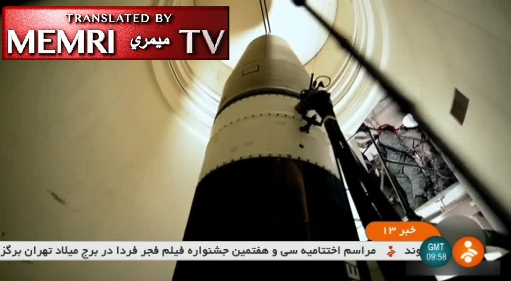"Iranian TV Report on Underground ""Missile Cities"": Ballistic Missiles Ready to Launch 24/7, Some Aimed at U.S. Aircraft Carriers"