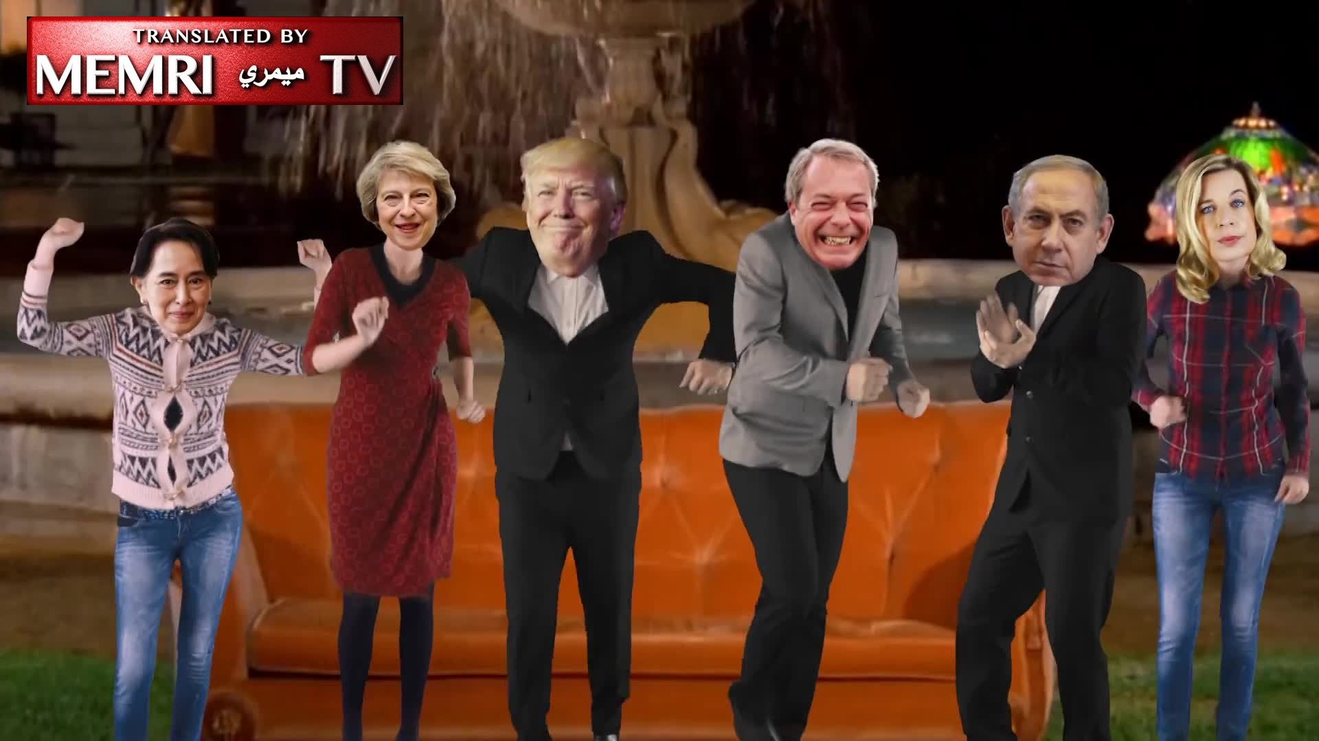 "U.K.-Based Islamic Organization Releases Promotional Video for Upcoming ""Islamophobia Awards"" Showing Dancing Caricatures of Trump, Theresa May, and Others"
