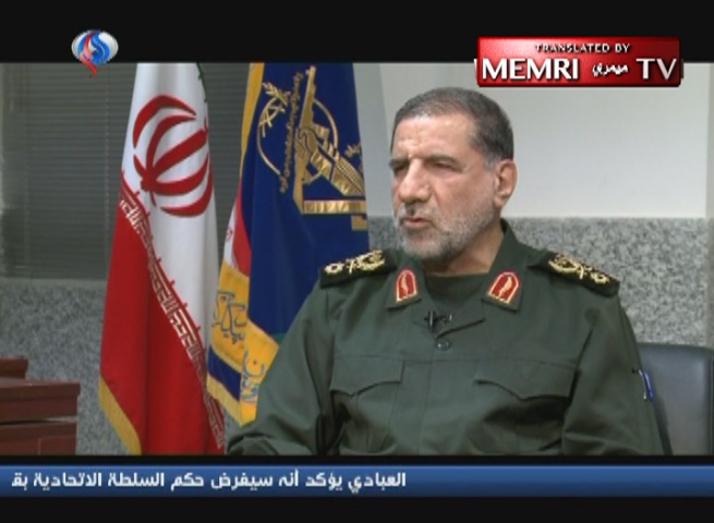 IRGC General Kowsari: Israel Will Be Wiped Off Planet Earth in 25 Years or Less