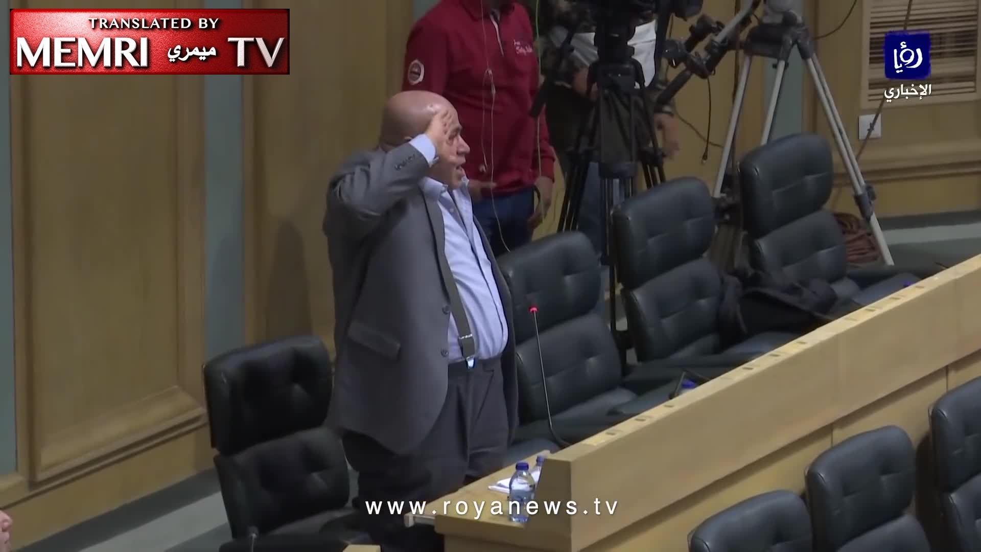 Jordanian MP Khalil Attieh Salutes Palestinian Who Murdered Two Israelis: You Are a Hero
