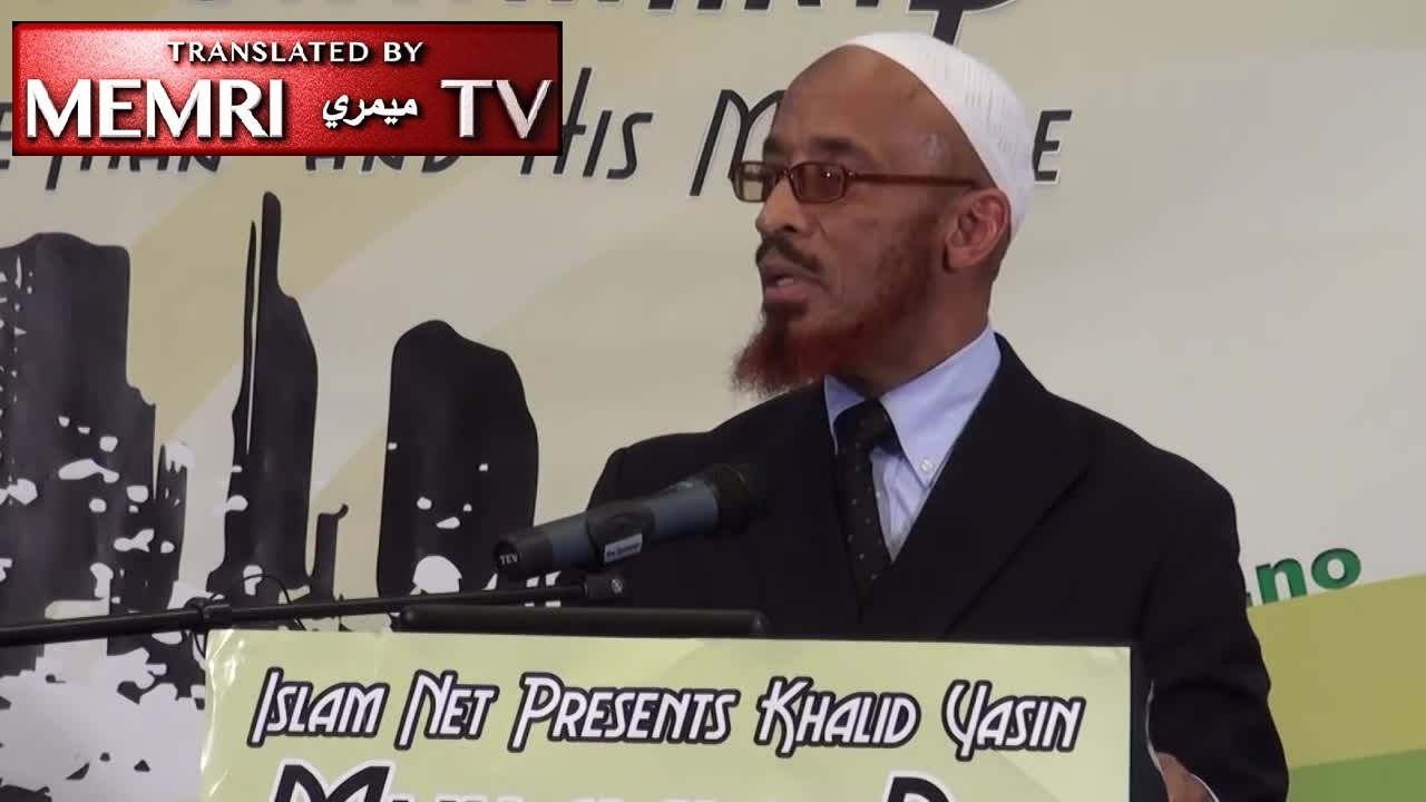 U.K.-based American preacher Sheikh Khalid Yasin: We Have No Beef with Jews, But Zionists Are Dogs, Treacherous People; Islam in the West Is a Tsunami (Archival)