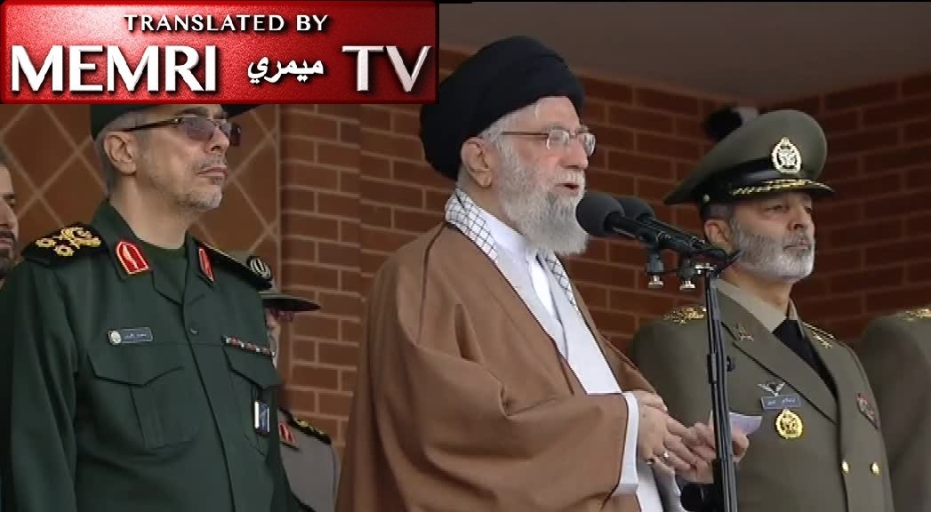Iranian Supreme Leader Ali Khamenei: America, the West behind Riots in Iraq and Lebanon