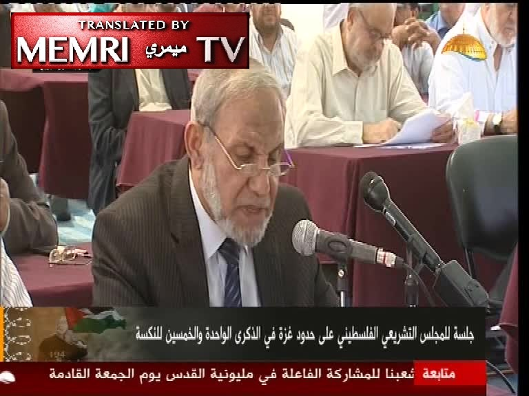 Senior Hamas Official Mahmoud Al-Zahar Rejects Colleague's Criticism of His Antisemitic Rant: The Jews Corrupted European Societies