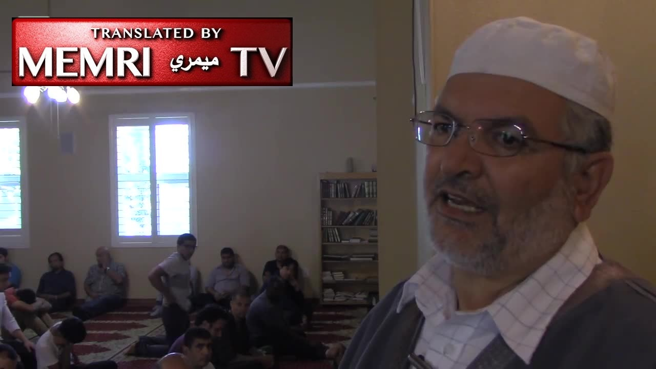 California Imam Mahmoud Harmoush Prays for Allah to Destroy the Jews: They Are After Mecca and Medina