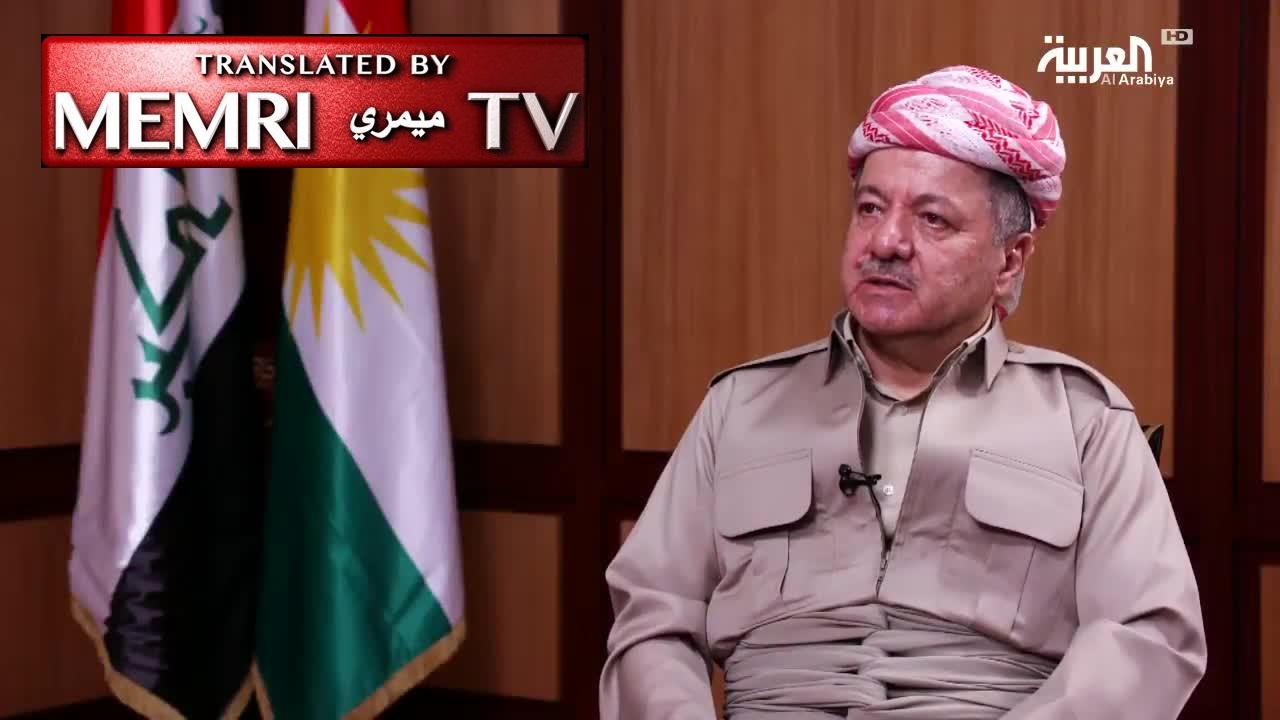 Kurdistan President Masoud Barzani: The Only Alternative to Independence Referendum Is an Agreement with Baghdad with International Guarantees