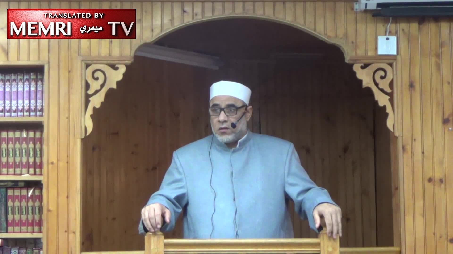 "Minneapolis Friday Sermons by Sheikh Shaaban Aboubadria: Men Whose Wives ""Go Naked"" Are She-Camels Whose Authority Is Limited to One Remote Control"