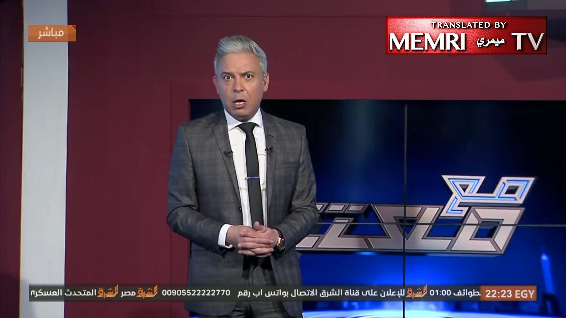 Moataz Matar, Host on Egyptian Muslim Brotherhood TV on Syria Strike: Trump Has Given Al-Assad Another Kiss of Life