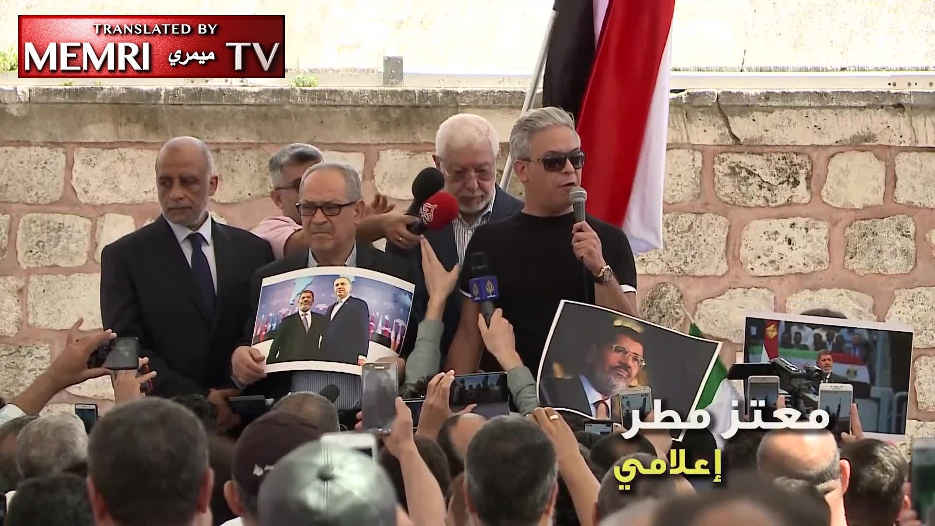 MB TV Host Moataz Matar at Turkey Rally: Morsi's Fingerprint Has Been on Every Missile Launched by the Gaza Resistance