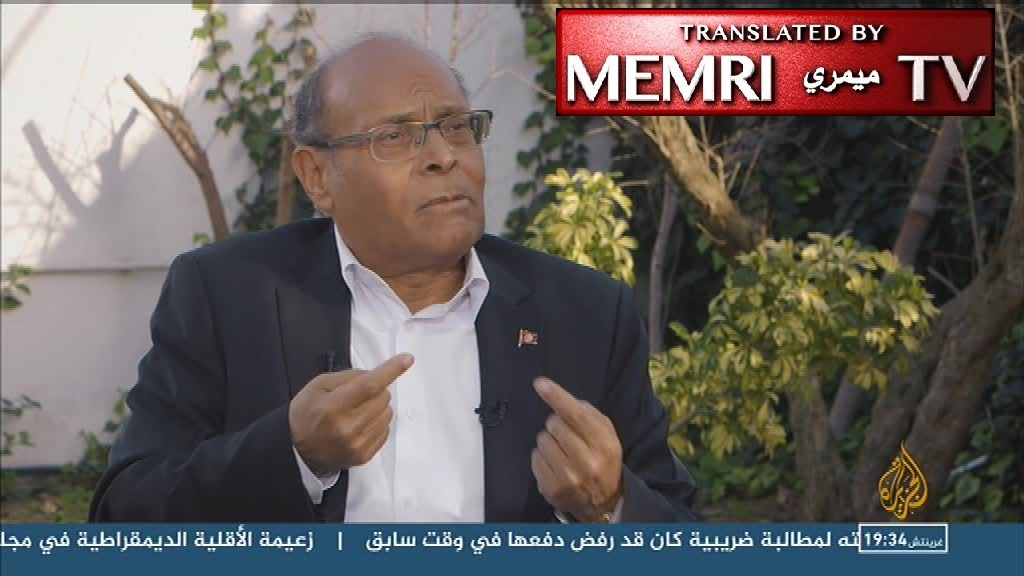 Former Tunisian President Moncef Marzouki: We Need an Ideological Revolution; Our Tribal Mentality Has Destroyed Our Society