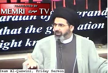 California Friday Sermon by Imam Moustafa Al-Qazwini: If Hamas Are Terrorists, then Washington and Lincoln Were the First Terrorists (Archival)