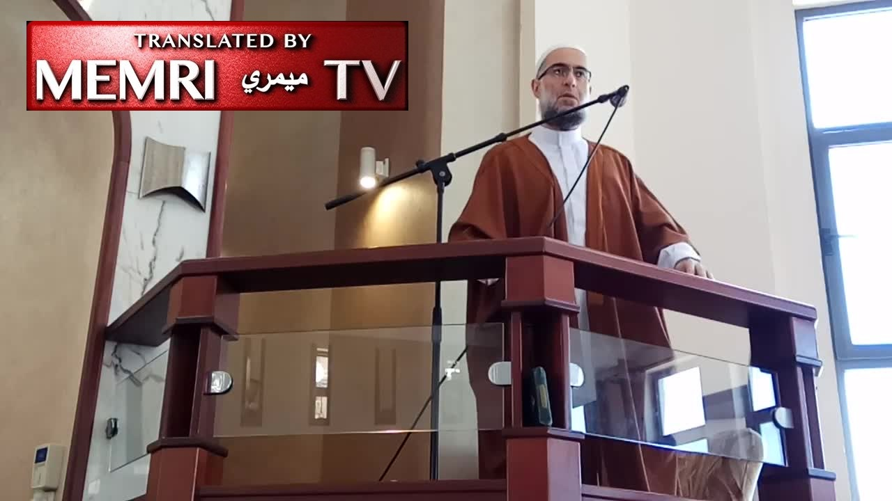 In Nablus Friday Sermon, Sheikh Muhammad Nour Malhas: People Who Normalize Relations with Israel Will Not Be Among Muslims to Kill Jews on Judgement Day