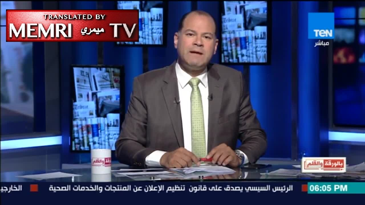 "TV Host Nashaat Eldeehy Calls upon Egyptians to Work an Extra Hour a Day: ""To Hell with American Aid"""