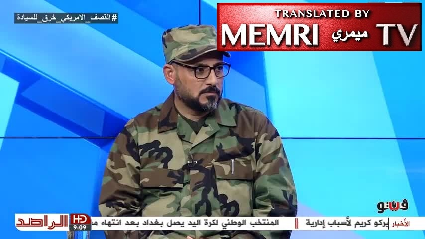 Nasser Al-Shammari, Deputy Sec.-Gen. of Iraqi Hizbullah Al-Nujaba Movement Responds to U.S. Strikes against Iran-Backed Militias in Iraq: We Have the Right to Target Americans Wherever They May Be Found