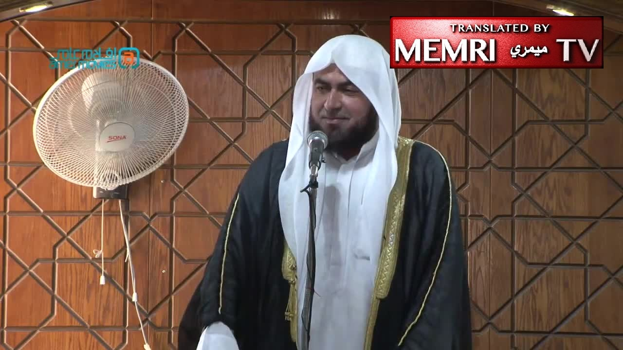 Jordan Friday Sermon by Sheikh Omar Ibrahim 'Adi: Barcelona Attack Fabricated by West, Like 9/11