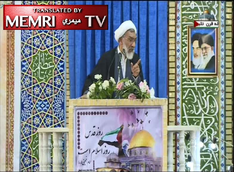 "Kerman Friday Sermon by Former Iranian Minister Mostafa Pourmohammadi: Narrative of ""So-Called Holocaust"" Should Be Researched; The Jews, Zionism Constitute an Invasive Civilization of Arrogance"