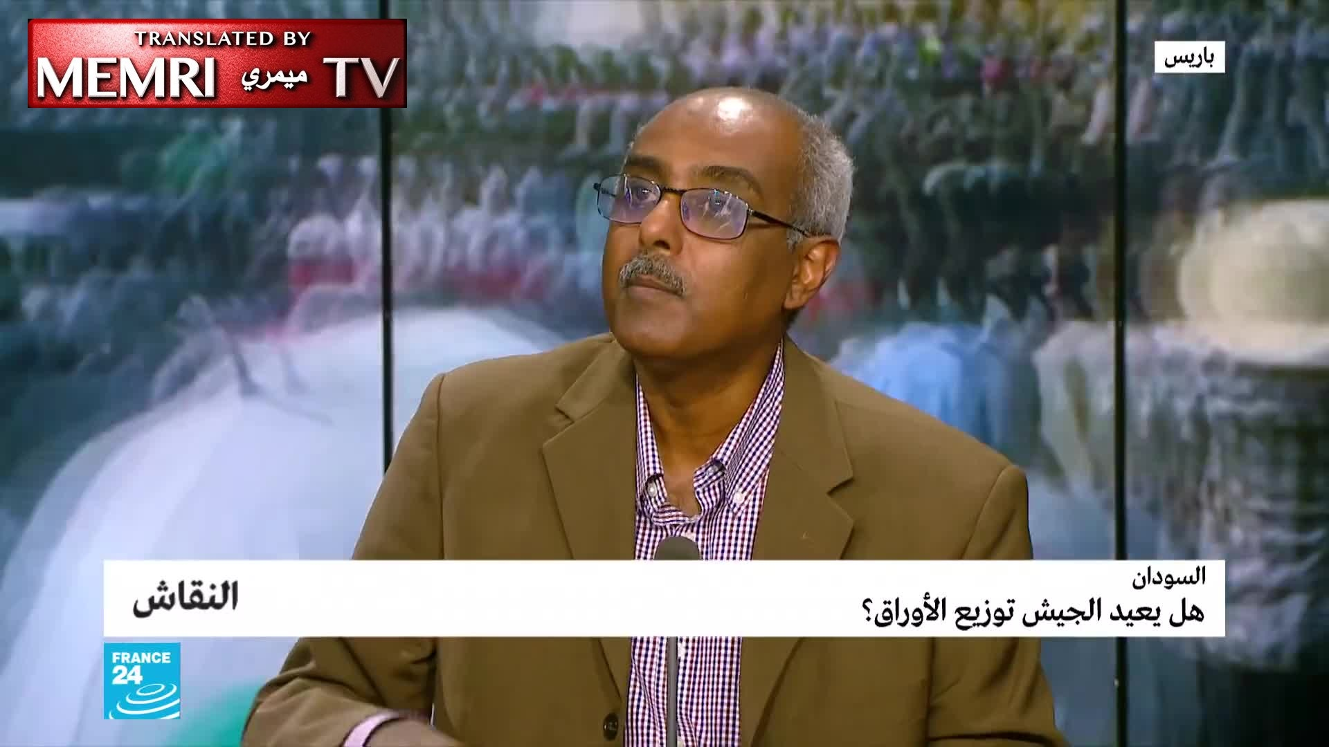 Sudanese Journalist Rachid Said Yacoub: We Are Fighting against the Muslim Brotherhood, and Seeking to Establish a State Based on Citizenship