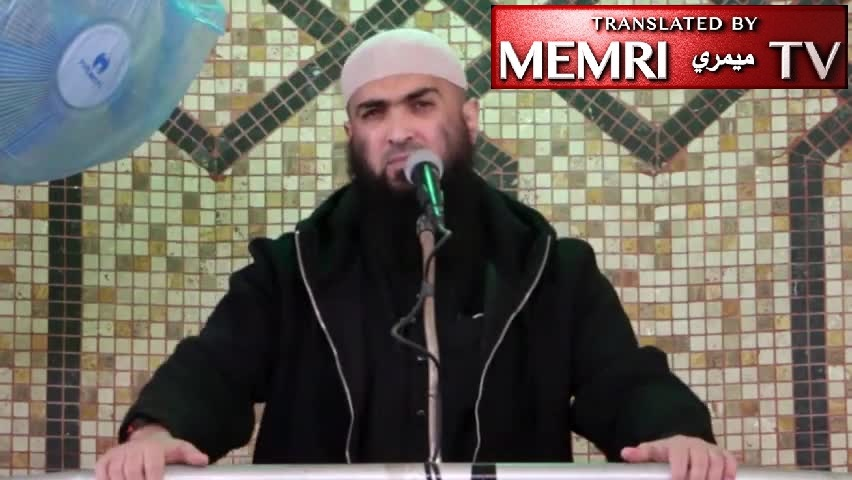 Rafah Friday Sermon by Sheikh Nael Mossran: Pensacola Shooter Had Acted out of Compassion for the Islamic Nation; The Only Way to Stop America's Crusade against Islam is Jihad for the Sake of Allah