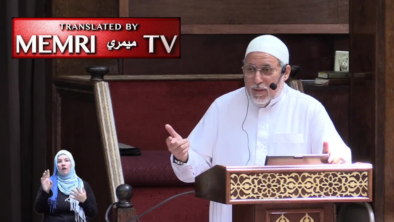 Virginia Imam Shaker Elsayed against Peace Process with the Jews: It's in Their Genes and Blood