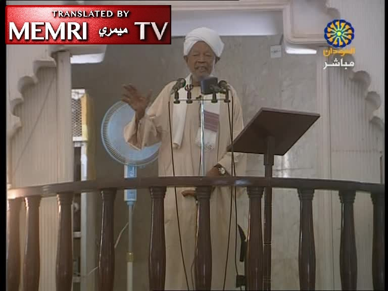 Sudan Sermon by Sheikh Abd Al-Jalil Al-Karouri: The Jews Are Behind NZ Massacre; They Are the Enemies of Christians and Muslims