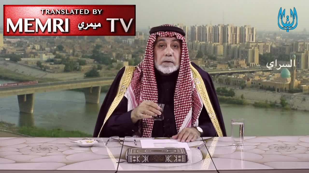 "Iraqi Sunni Politician Sheikh Taha Al-Dulaimi: 98% of Americans Killed in Iraq Were Killed by Sunnis; When ""Sunni Spring"" Comes, We Will Drink Tea in Tehran"