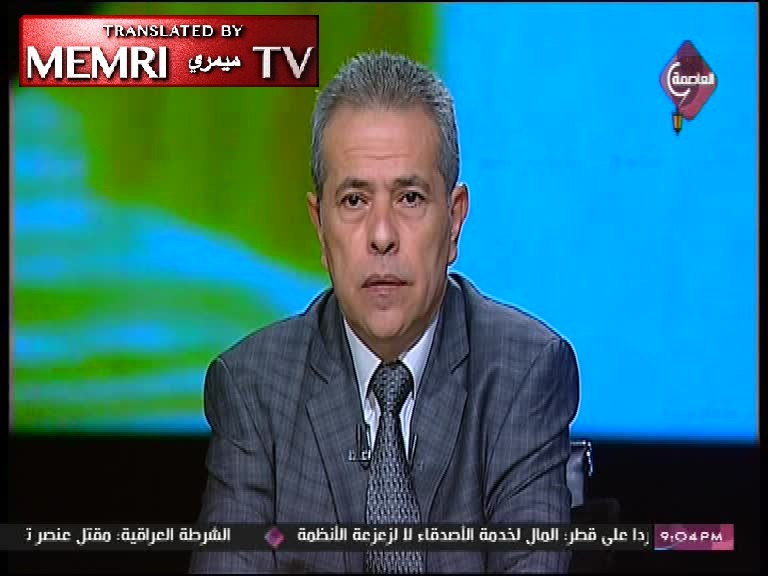 Egyptian TV Host Tawfiq Okasha: The Jews Control the World Economy, Started World War II, Sacrificing a bunch of Jews in the Holocaust