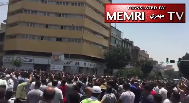 Protesters in Tehran Shout: Our Enemies Are Right Here! America Is Not Our Enemy! No to Gaza, No To Lebanon!