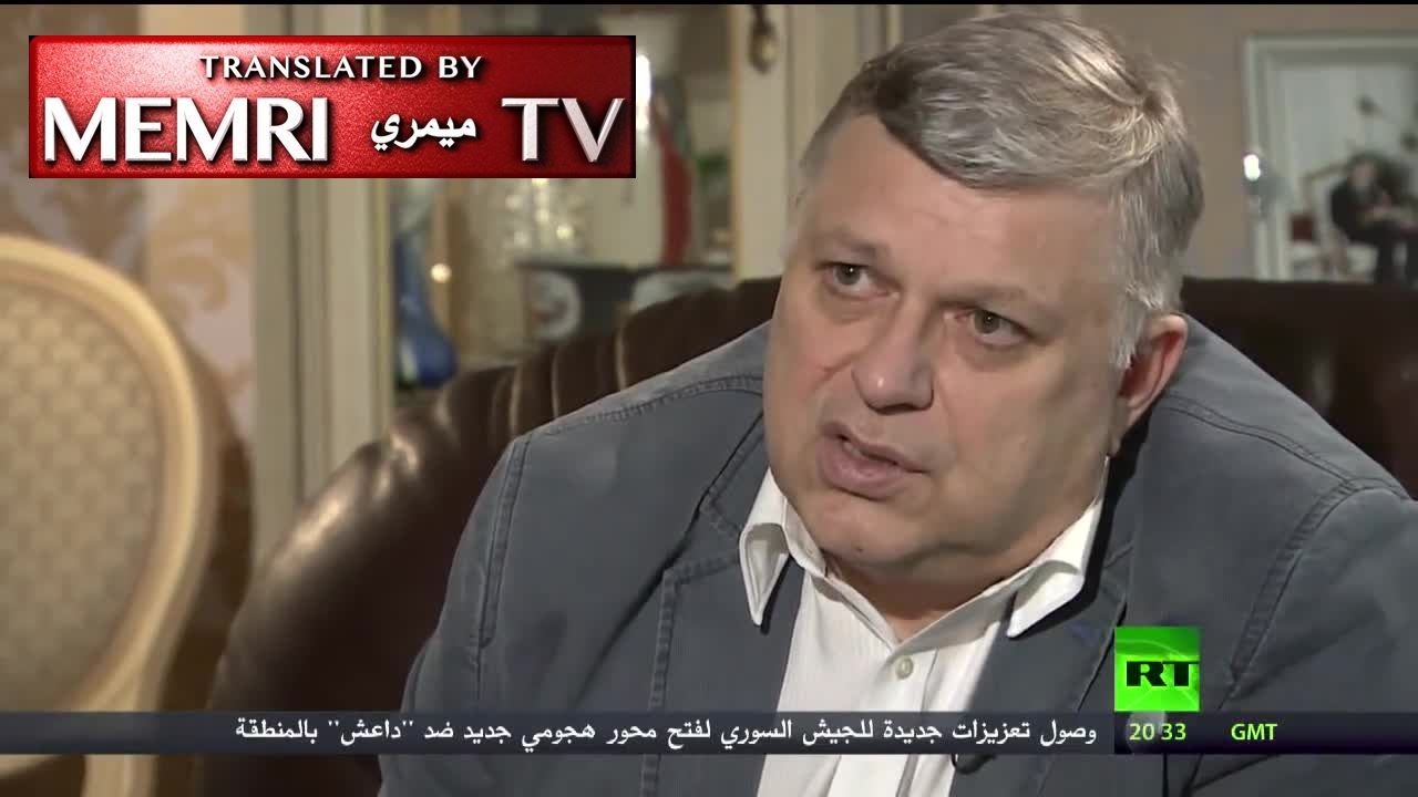 Former Russian Ambassador To Qatar Vladimir Titorenko: Qaradhawi Urged Al-Jazeera To Air Gory Arab Spring Footage And Said Qatari Rulers Would Eventually Be Ousted; Hamad Bin Jassim Orchestrated Deterioration Of Bilateral Relations