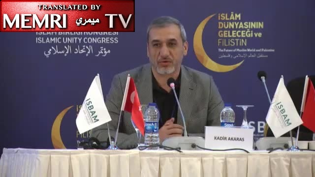 "Turkish Scholar Kadir Akaras Calls on People to Support Hamas, Hizbullah Financially, Criticizes Muslims Who Find Islam, Jihad to Be ""Inadequate"""
