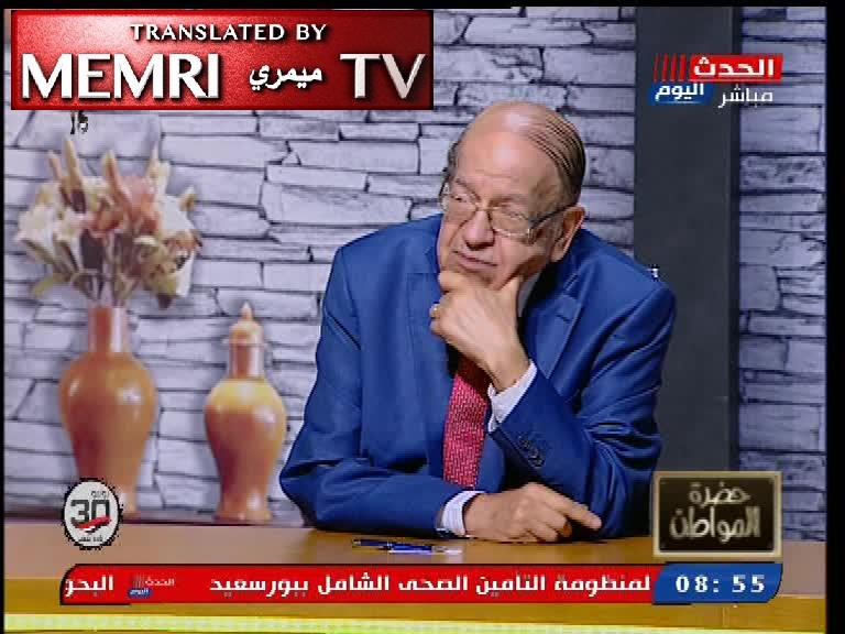 Egyptian Analyst Dr. Wassim Al-Sissy: The Jews Toppled Germany, This Is Why Hitler Hated Them