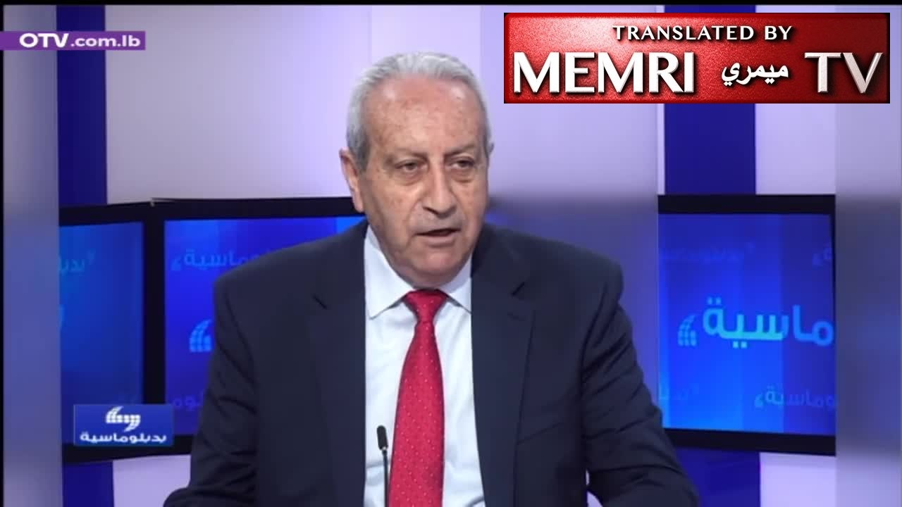 Lebanese Politician Wehbe Katicha: Israel Would Not Attack Us If We Had a Real Government; We Will Have No Economy So Long as We Have Extralegal Militias