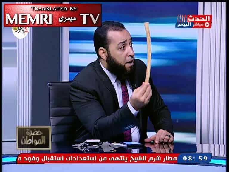 Egyptian TV Host Sayyed Ali Recommends That Women Take Up Taekwondo to Defend Themselves against Wife Beating