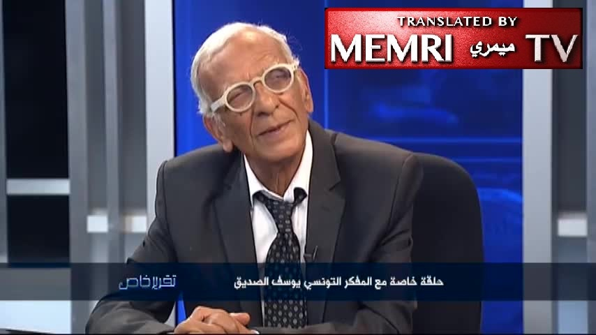 Paris-Based Tunisian Philosopher Youssef Seddik: 'Every Muslim Believes' The Entire Earth Must Become Muslim - But 'I Like The American Moderation' And Coexistence - 'Something You Rarely Find In Non-Western Countries'