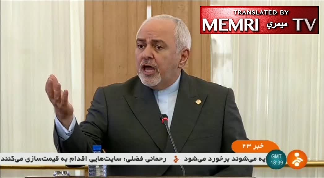 Iranian FM Javad Zarif: We Are Responsible for Security in the Persian Gulf; Seizing the British Oil Tanker Was Merely an Enforcement of Regulations; We Chose Not to Ignore Britain's Piracy; Our Courts Must Examine the Issue