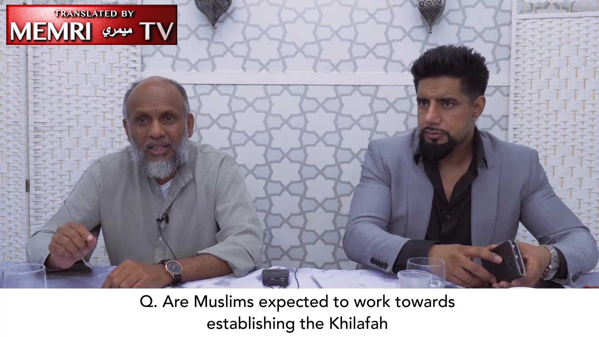 U.K. Cleric Abu Layth Al-Maliki: Groups That Want to Establish a Caliphate Believe in a Bollywood Fantasy Version of Islamic History - Archival