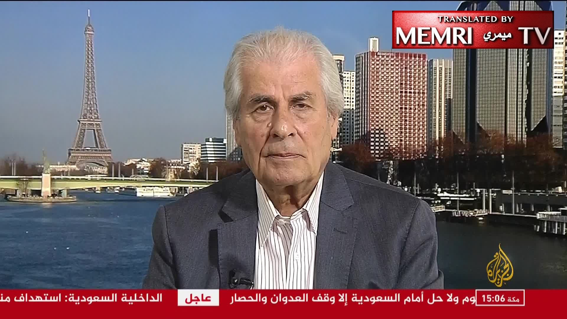 "Paris-Based Political Lebanese Analyst Ali Naseredine: Houthis Are Used by Iran; If the Head Is ""Chopped Off,"" the Hands and Tail Will Follow"