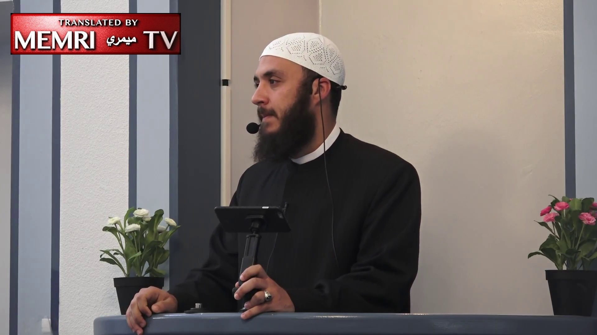 California Sermon: Imam Ammar Shahin Prays To Allah To Turn Jerusalem And Palestine Into A Graveyard For The Jews And Liberate The Al-Aqsa Mosque From 'Their Filth'