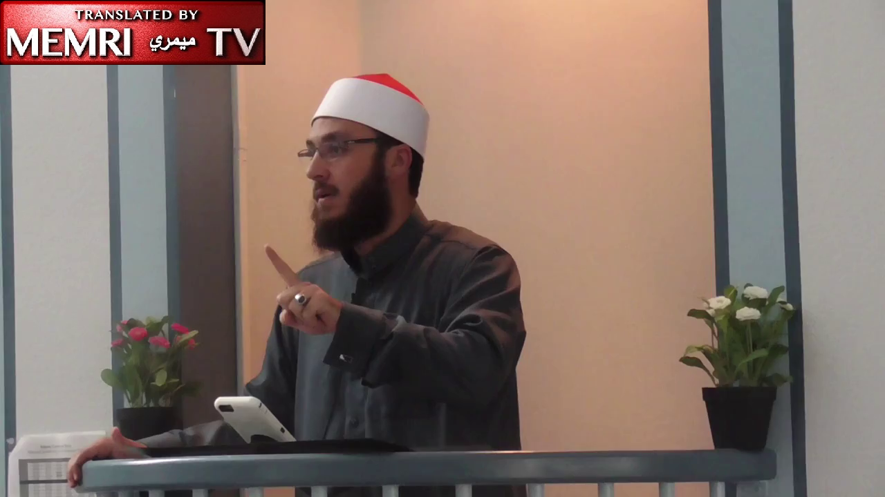 California Friday Sermon by Imam Ammar Shahin:  Democracy and the Constitution Are Like Idols Made of Dates - Archival