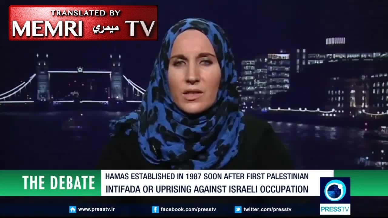 London-Based Analyst Catherine Shakdam on Iranian TV: Armed Resistance Is the Only Way Forward for the Palestinians