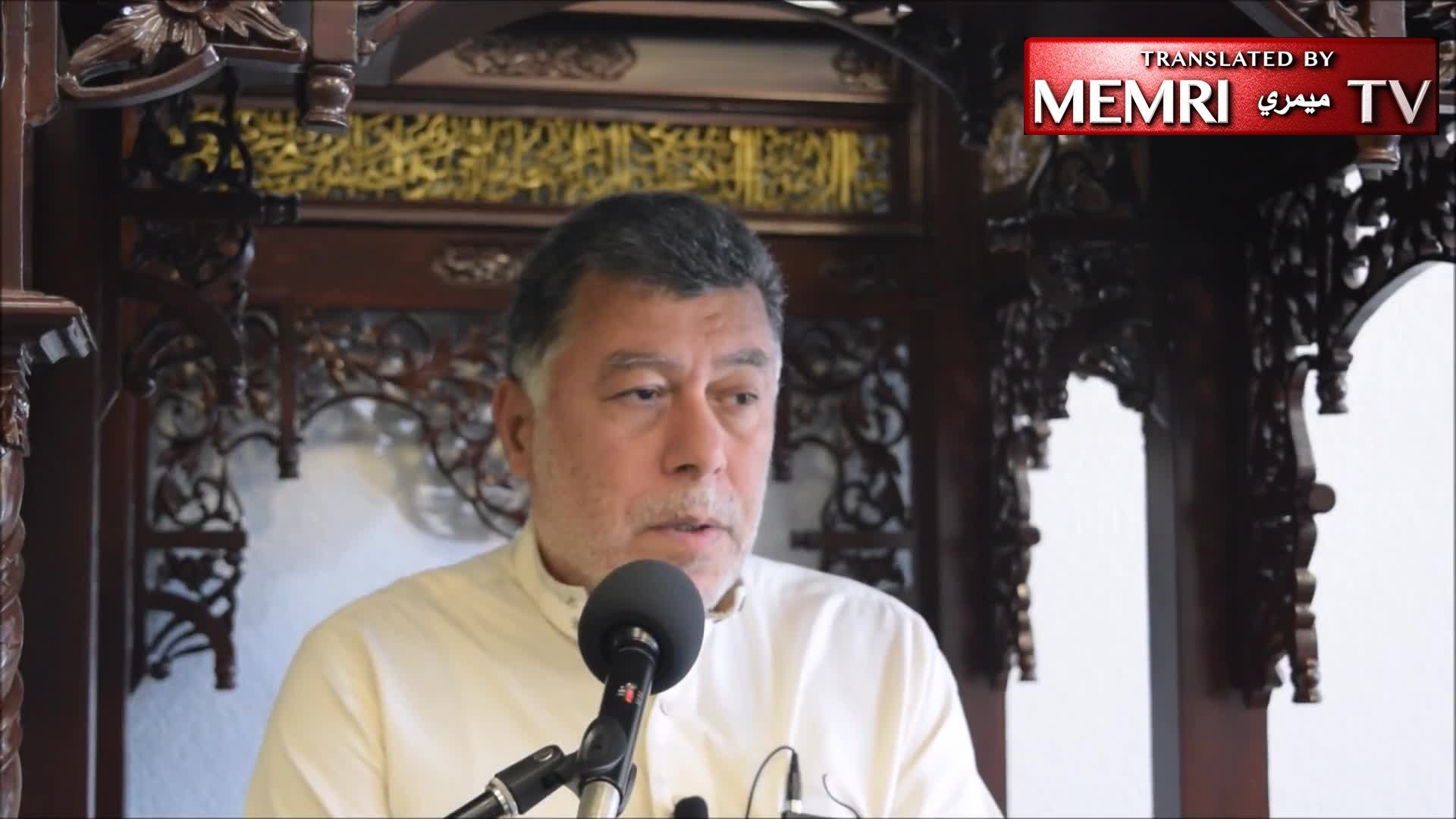 Florida Friday Sermon by Imam Hasan Sabri: Atheists Are Worms in the Body of Muslims, Germs Causing Disease to the Nation