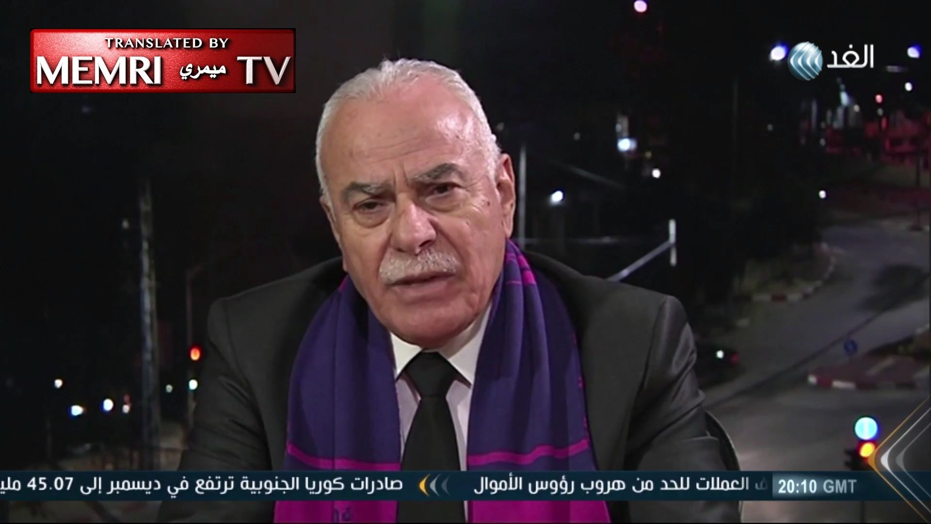 Fatah Official Sultan Abu Al-Einein: Transfer of U.S. Embassy to Jerusalem Will Lead to Renewed Bloodshed