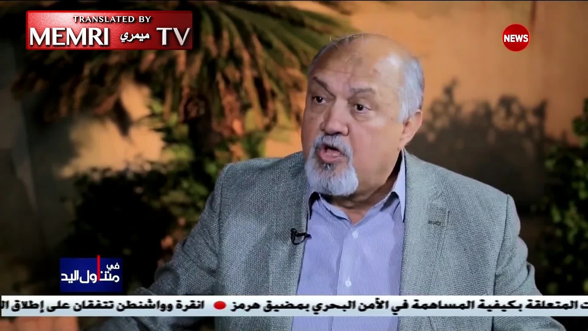 Former Iraqi MP Misha'an Al-Juburi: Sunni Iraqis Will Seek Help from America, Israel, and Even Satan Himself to Get Rid of the Current Injustice in Iraq