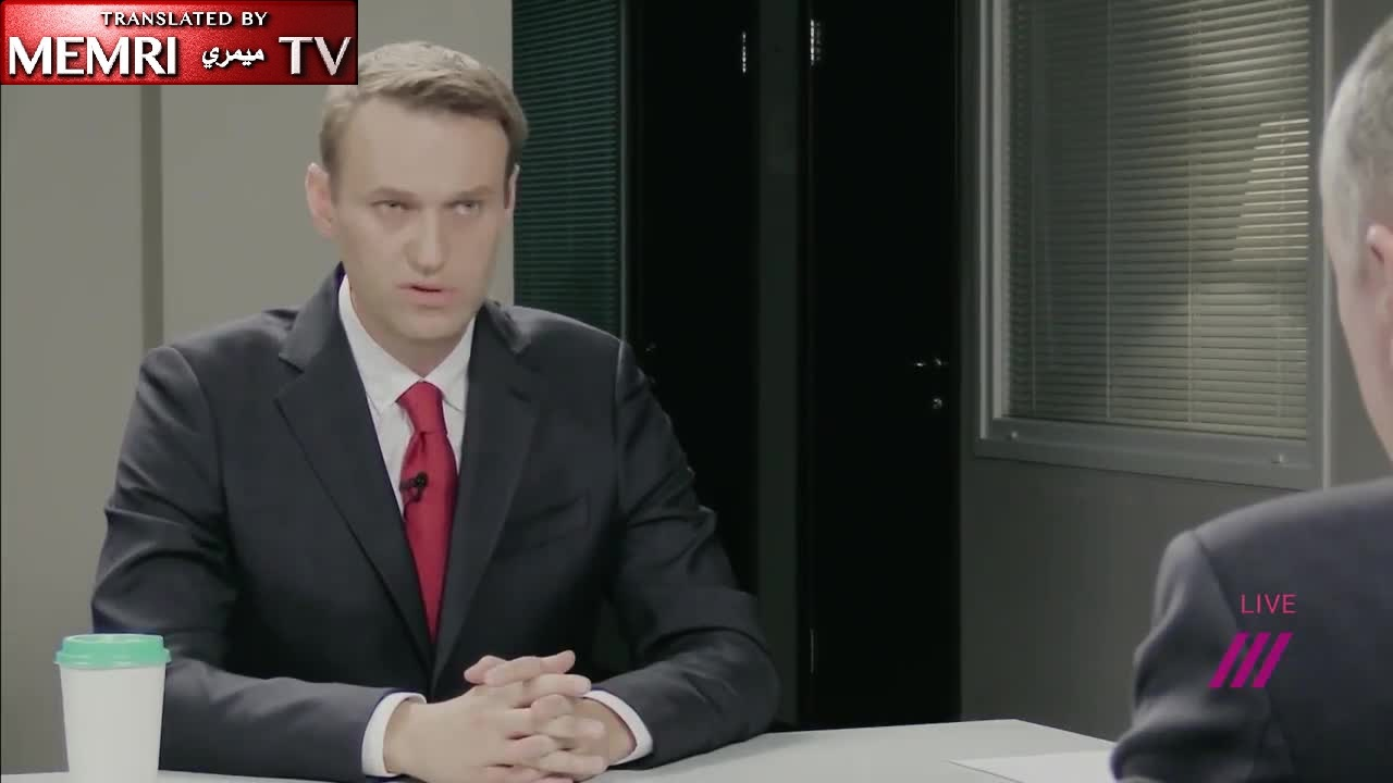 Russian Opposition Leader Accused of Being Non-Patriot and Non-Nationalist