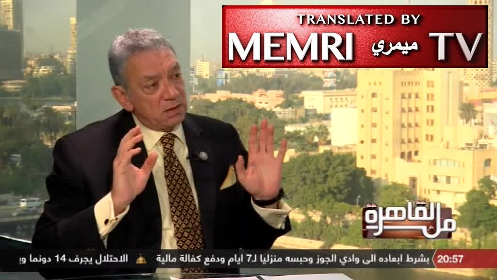 "Egyptian Ambassador Rif'at Al-Ansari, Former Diplomat at Tel Aviv Embassy: 50,000-Strong Media ""Watchdog"" Serves Israeli Interests"