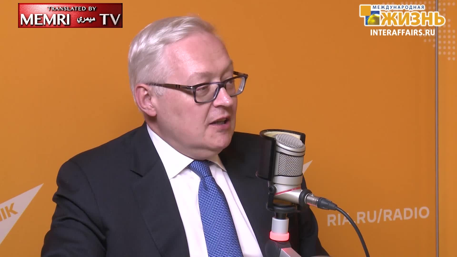 Russian Deputy FM: The Americans Want Us to Be on Their Hook