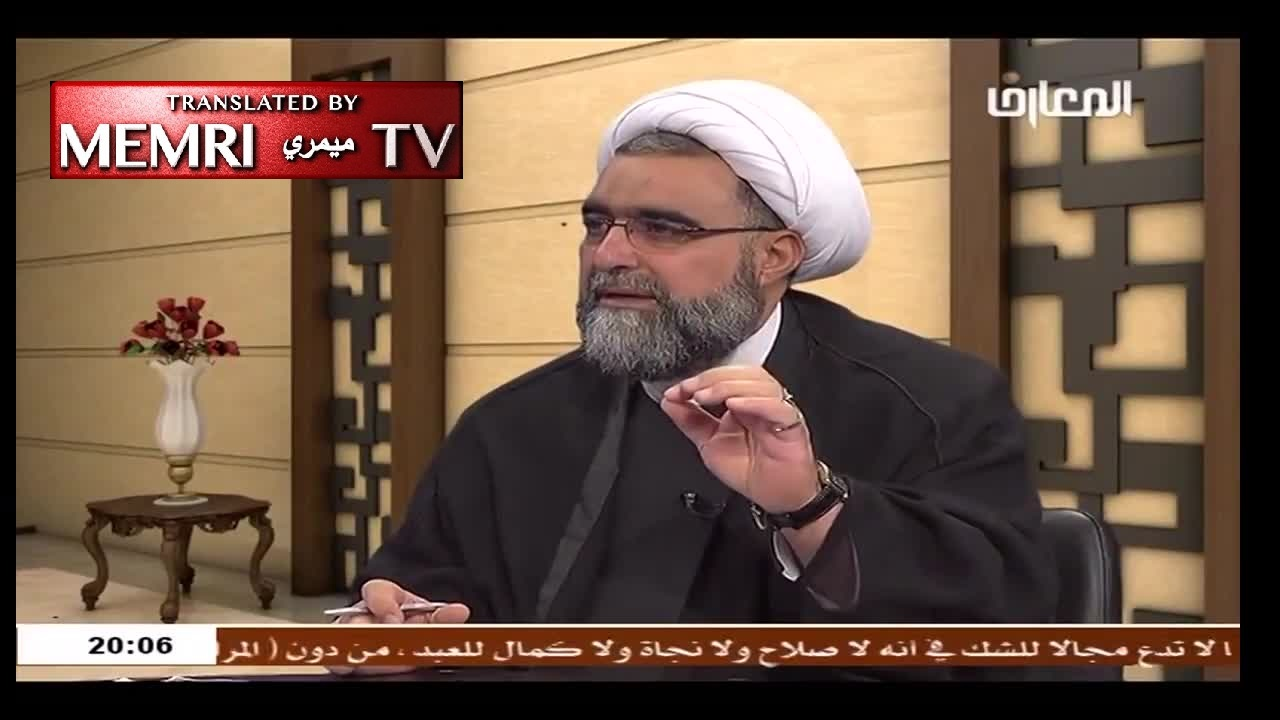 Hizbullah Official Tamer Hamza: Like Insects, the Jews Will Not Change, Stealing Gold Is in Their Genes